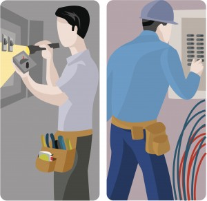 Worker Vector Illustrations Series