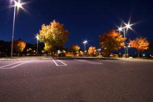effective parking lot lighting