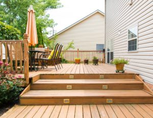 tristar electric outdoor deck lighting
